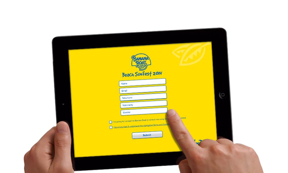 Ipad Banana Boat App